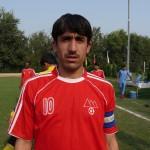 Afghan FC Chaman captain Jadeed Khan Pathan