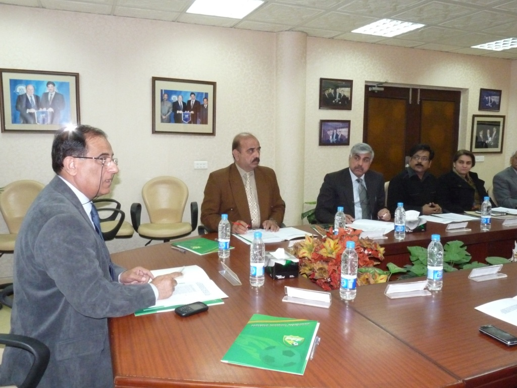 Ahmed Yar Khan Lodhi chaired LOC meet on thursday