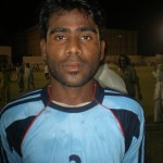 Man of the Match M. Nawaz (Baloch Mujahid)
