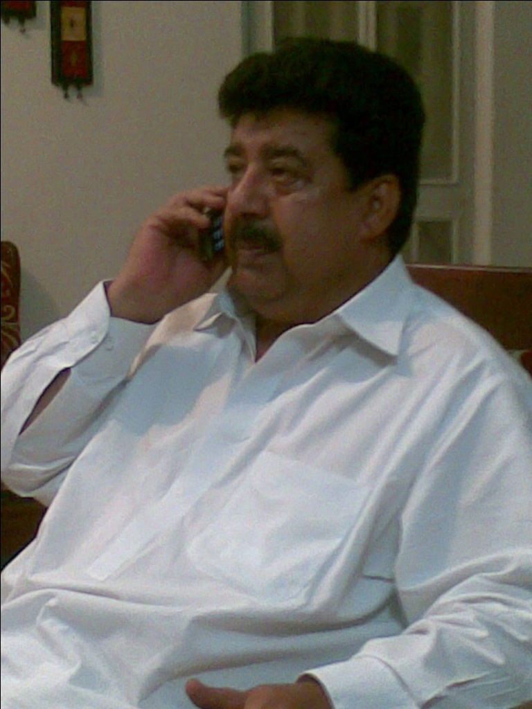 Ali Bahar Brohi, SFA member from Jacobabad