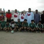 Young Rashidabad with Chief Guest M. Rahim