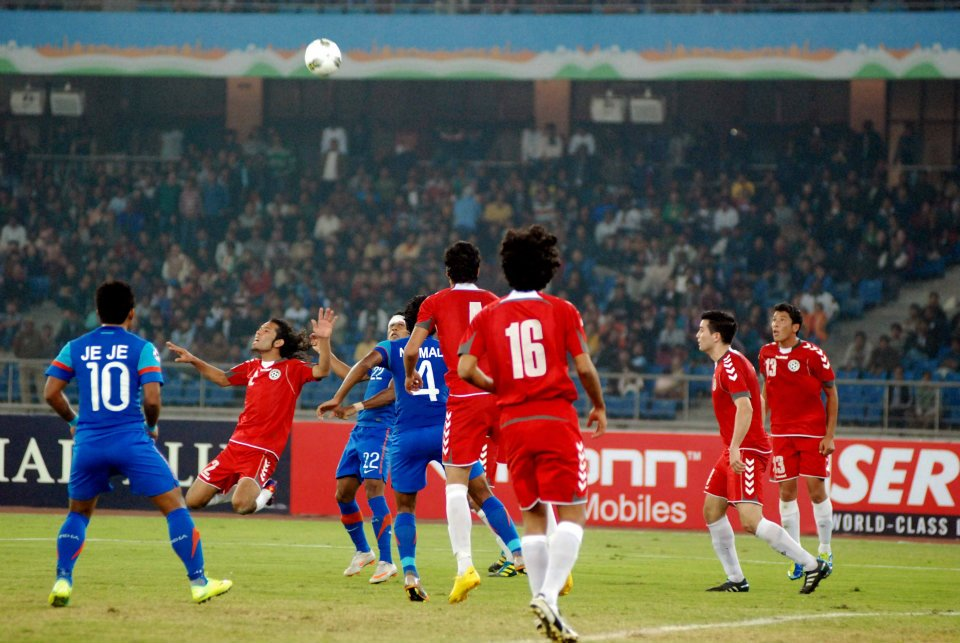 Afghan-India SAFF 2011 final (Source: WSG)