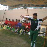 Shahzad Anwar coaching Pakistan U19 (National Youth A)