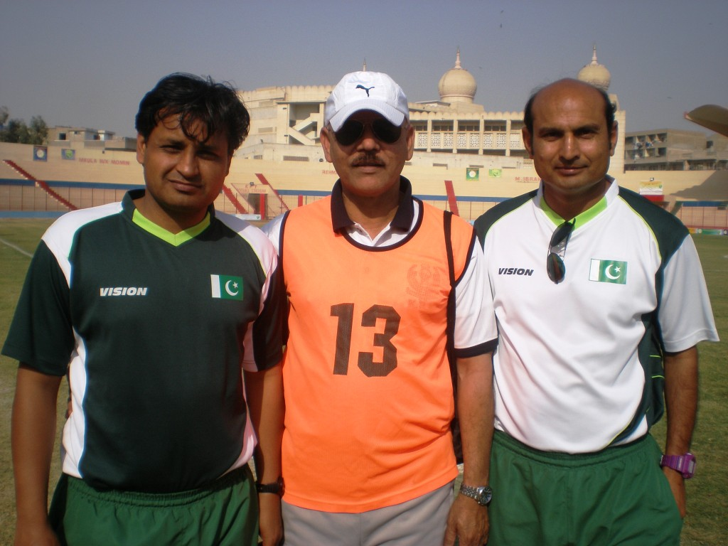 If PFF permits: 'Coaches can save football in Pakistan' [Express Tribune]