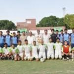 Punjab vs Wohaib FC with DFA Bahawalpur president Sheikh Iqbal ur Rehman
