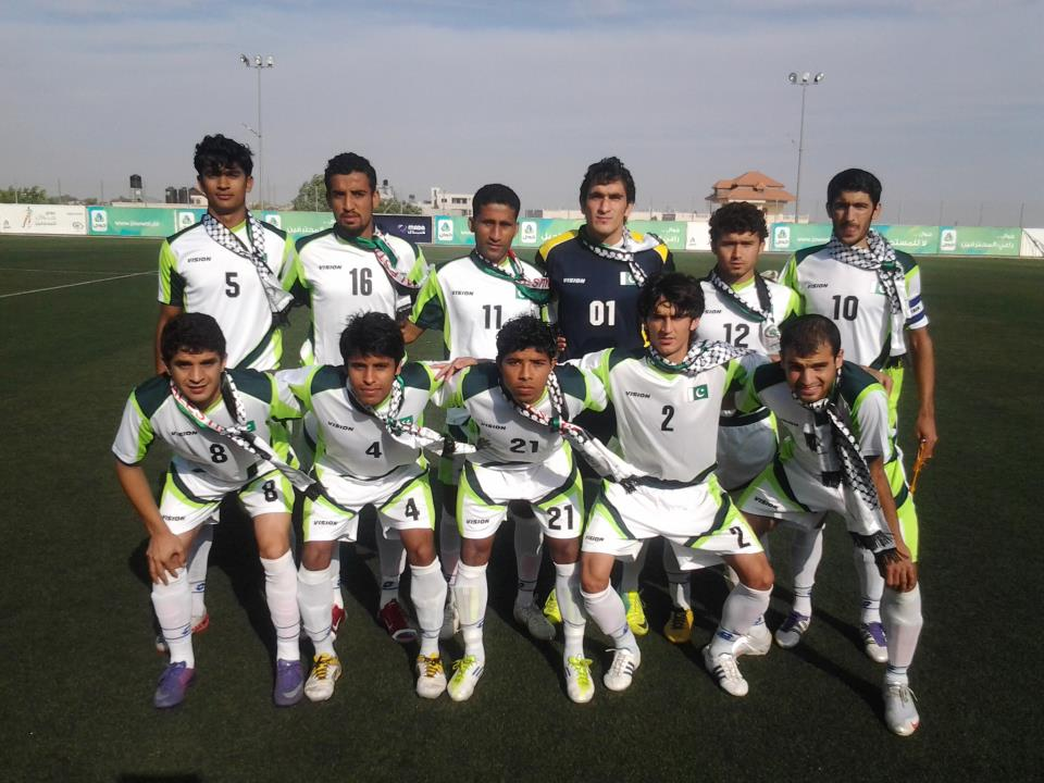 Pakistan U22 team vs Vietnam