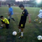 young players at Fame FC Academy 'Summer Camp 2012