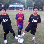 Kids at Fame FC Academy 'Summer Camp 2012'