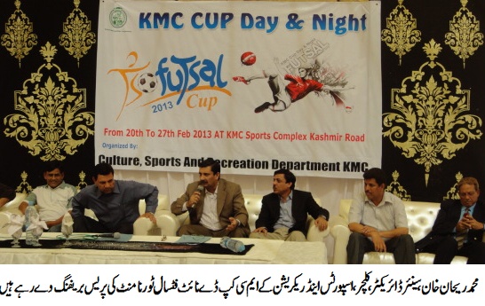Kmc Futsal Event From February 20 Fpdc