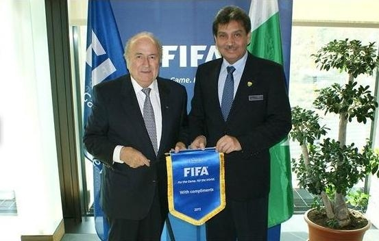 President PFF and President FIFA - FIFA hails the efforts of PFF