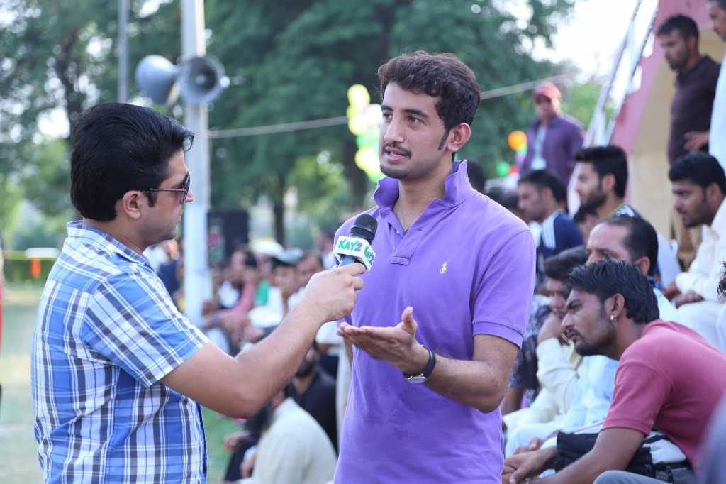 Chief Organizer and football enthusiast Hamza Azhar has been behind ARWT's venture into the local footballing scene.