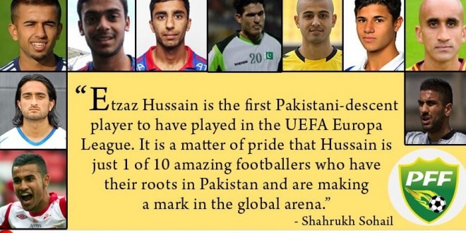 10 footballers of Pakistani descent who have made us proud [Express Tribune]