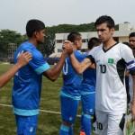Pakistan - India Handshake