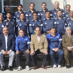 Participants of AFC B Coaching Course with the chief guest.