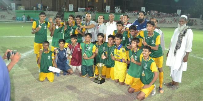 Faisalabad-Sahiwal Zone crowned U16 champions [The News]