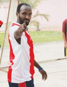Adam Jama Waberi (Adam Jee) of Gulshan Soccer Academy