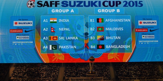 Pakistan get lucky at SAFF Cup draw [Dawn]