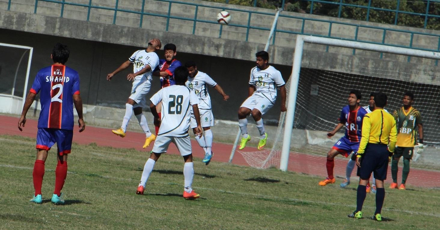 KRL vs NBP - PFF Cup 2016 final action