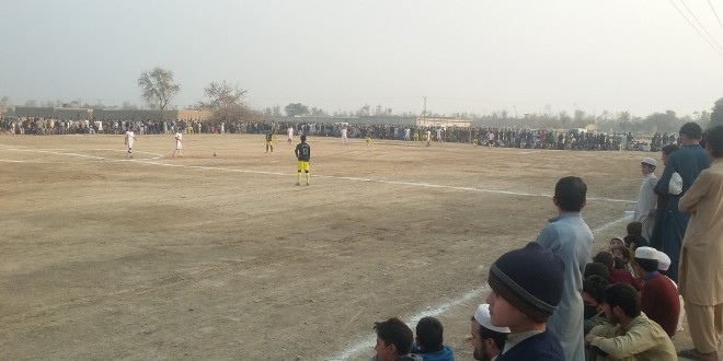 Chinar win Peace Football Tournament final in Jamrud, Khyber Agency