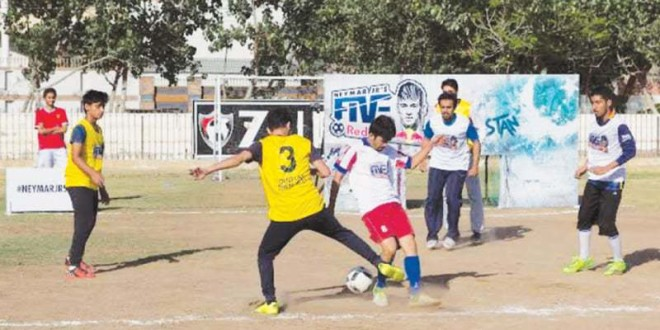 Neymar Jr's Five kicks off in Karachi [Dawn]