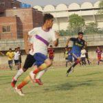 Sports Board Punjab U17 football trials at Punjab Stadium