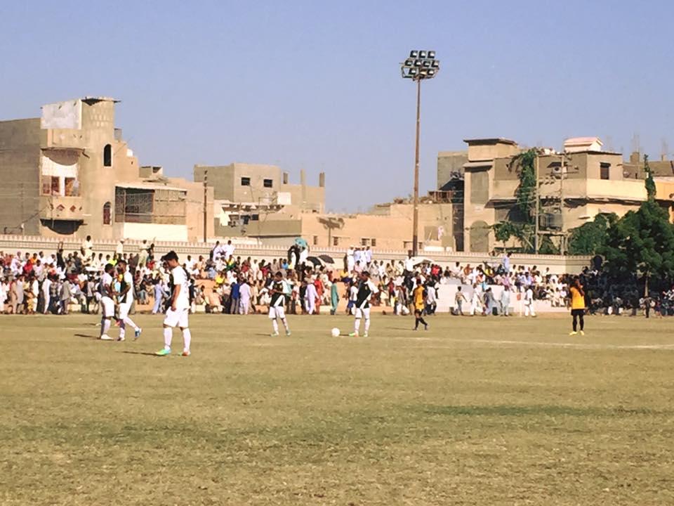 Karachi United vs NBP - All Pakistan Dr Muhammad Ali Shah Football 2016 final