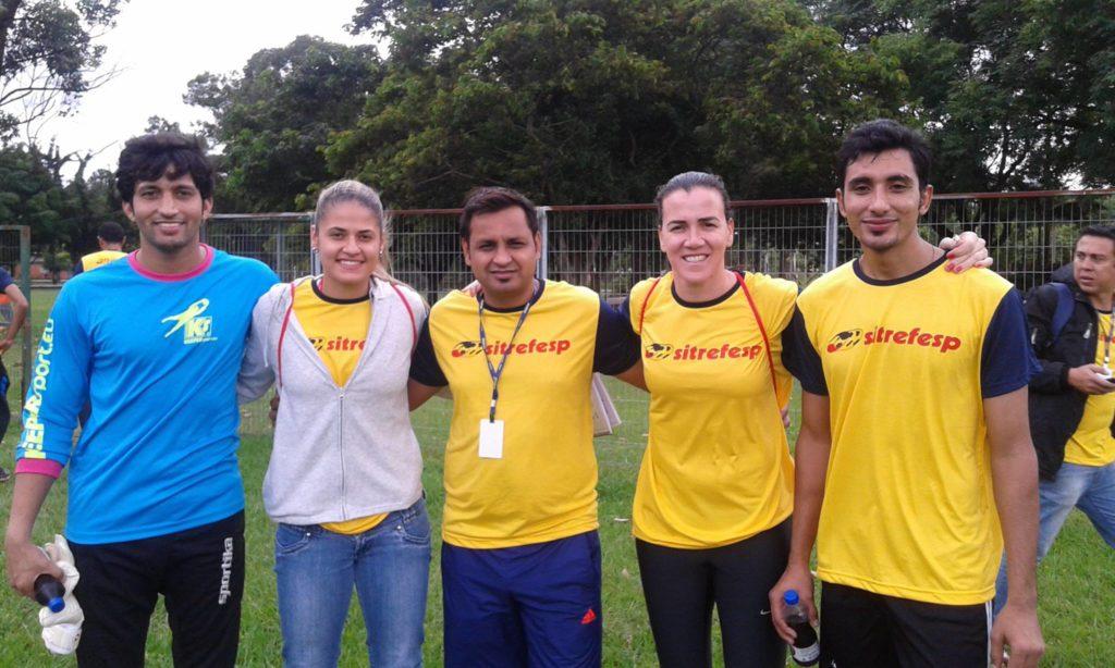 Shahzad Anwar in Brazil with Basit Ghafoor
