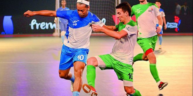 Star-studded: India's futsal league amazes Pakistan [Express Tribune]