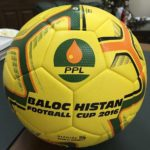 PPL Balochistan Football Cup 2016 official match ball