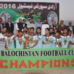 Quetta win PPL Balochistan Cup 2016 final