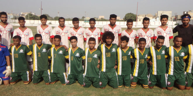 """Two more matches of Group """"B"""" have been decided in 13th Karachi Football League"""
