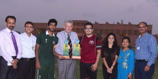 Institute of Business Management wins 14th (AKU) Inter-University Football Tournament