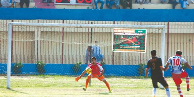 Wapda scrape past SSGC to set up final with KRL [Dawn]