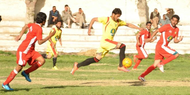 Quetta City beats Jaffarabad by massive 11 goals.