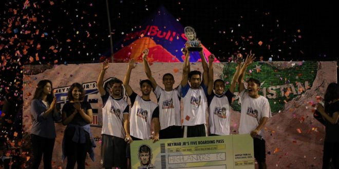 Highlanders FC clinch national finals of Neymar Jr's 5 event [Dawn]