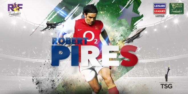 Former Arsenal star Robert Pires to visit Pakistan [Geo]
