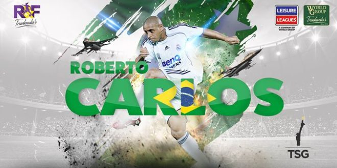 Roberto Carlos latest Leisure Leagues recruit
