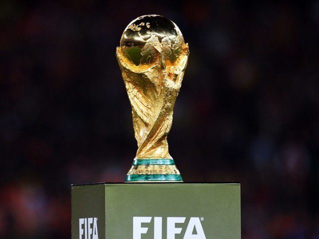 World Cup trophy's Pakistan stop in doubt, confirms FIFA [Express Tribune]