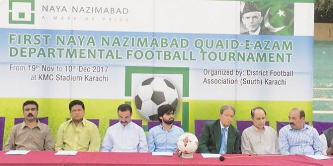 Departmental teams contribute to ensure football survives after FIFA ban [DAWN]