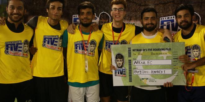 Abdul FC & Neymarazil book berths in Neymar Jr's Five National Finals