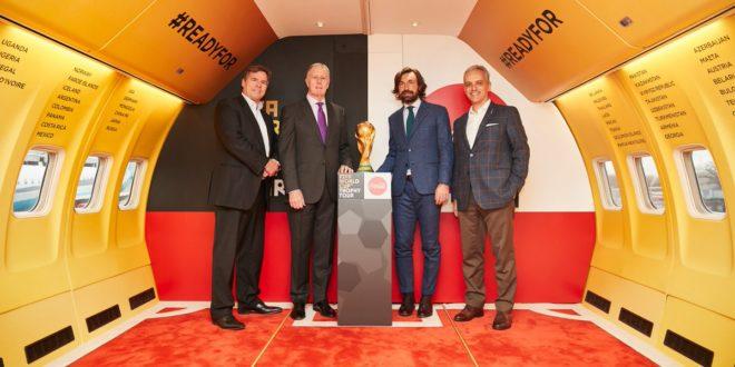 Coca-Cola kicks off trophy tour in London