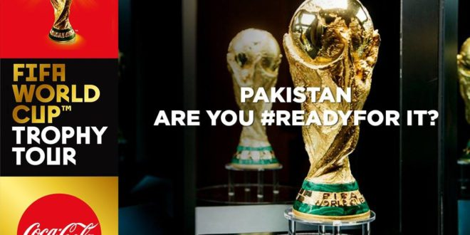 Pakistan set to host FIFA World Cup Trophy next month [Dawn]
