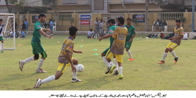 Mudassir knocks a hat-trick as Light of Baloch register two wins in Leisure Leagues Karachi Youth Initiative