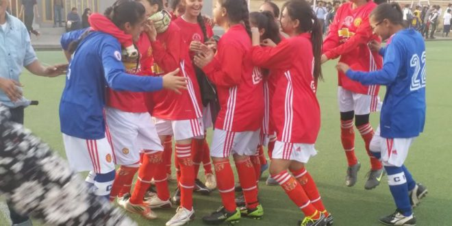SMB Fatima Jinnah govt school wins Karachi United girls football tournament [Geo]