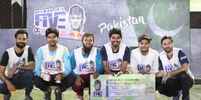 Raw Talent from Multan crowned Neymar Jr's Five Pakistan Champions 2018