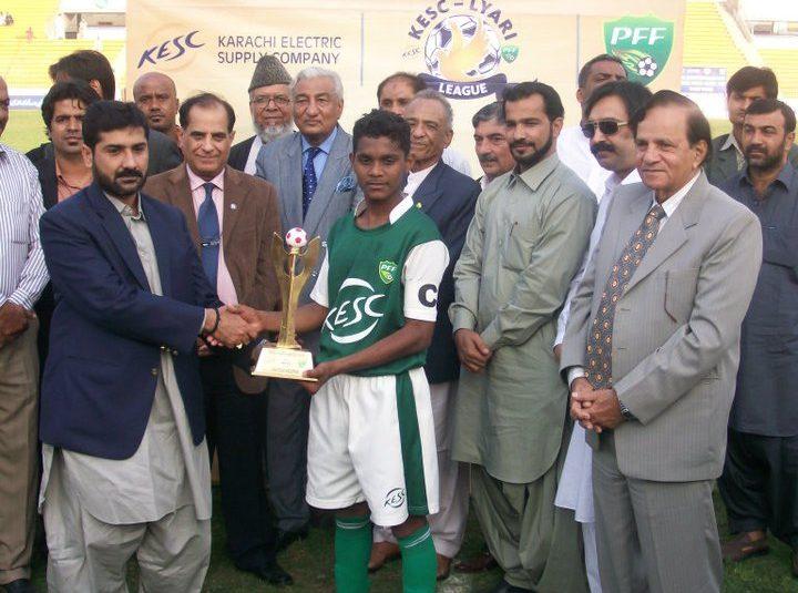 PFF-KESC Lyari Football League 2011 : Lyari Town annex the title : Singolane lost 1-4