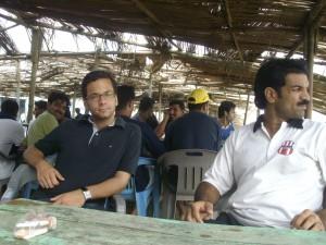 FPDC Webmaster & Chief Editor Malik Riaz Hai Naveed with Haroon Yousaf