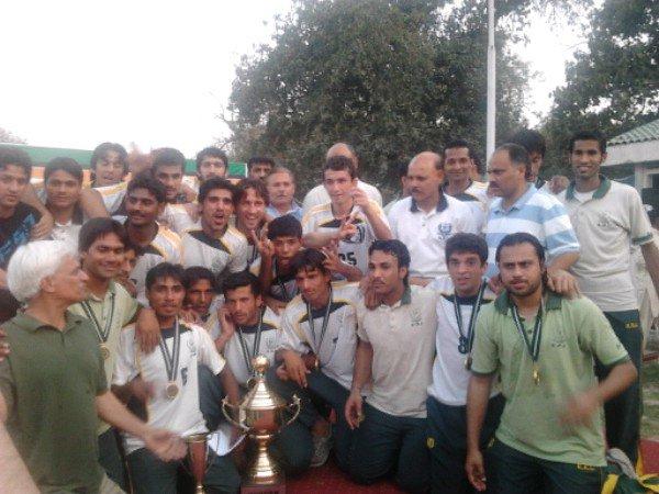 The winning Team KRL