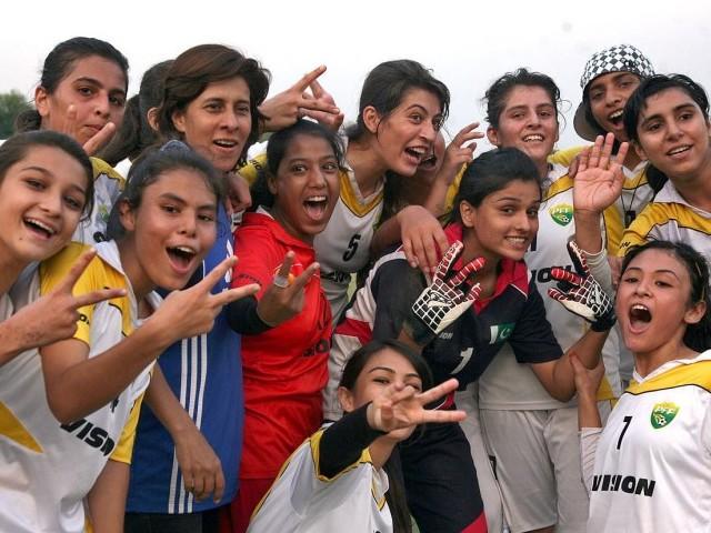Trials for Sindh Women Football Team