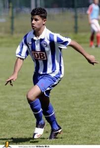 Sami at Hertha